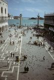 Piazzetta, San Marco stock photo