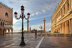 Piazzetta San Marco in Venice, Italy Stock Images