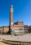 Piazzo del Campo Royalty Free Stock Photo