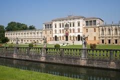 Piazzola sul Brenta (Italy), Villa Contarini. Piazzola sul Brenta (Padova, Veneto, Italy), Villa Contarini, historic palace (16th-17th century stock images