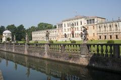 Piazzola sul Brenta, Villa Contarini stock foto