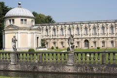 Piazzola sul Brenta, Villa Contarini royalty-vrije stock afbeelding