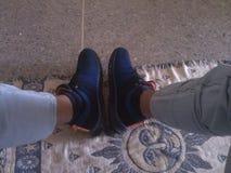 Pic моих ботинок Стоковое фото RF