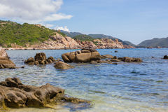 A pic in Binh Ba Island Royalty Free Stock Photography