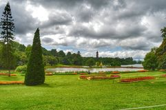Botanical Garden. A pic of a Botanical Garden in Pyin oo Lwin, Myanmar full of beautiful and different types of flowers royalty free stock image