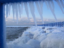PIC de glace Photographie stock libre de droits