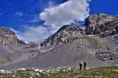 PIC de Sancte de police, Alpes, Frances Images libres de droits