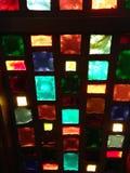 Pic delle azione di vetro macchiato Immagine Stock