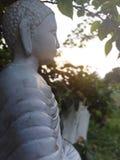 Pic di Lord Buddha nella sera fotografia stock