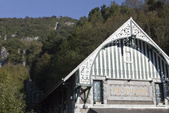 Pic du Jer Funicular Royalty Free Stock Photos
