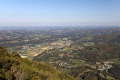 Pic du Jer Views stock afbeeldingen