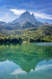 Pic du Midi d Ossau, Пиренеи, Франция стоковое фото rf