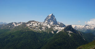 Pic Du Midi D'Ossau Royalty Free Stock Photo