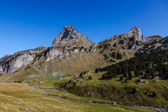Pic du Midi D'Ossau Stock Photography