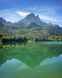The Pic du Midi d Ossau, Ossau Valley, France Royalty Free Stock Photography