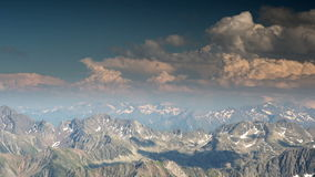 Pic du midi observation point pyrenees france stock footage