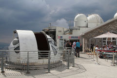 Pic du Midi Observatory Royalty Free Stock Photography
