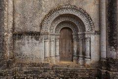 PIC horizontale de la porte du nord de Notre-Dame de l'Assomption de Image stock