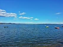 Pic jezioro Obrazy Royalty Free