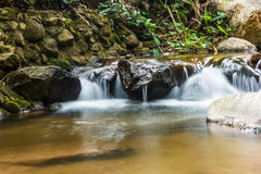 Pic of little waterfall. Royalty Free Stock Images