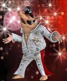 pic piosenkarz Toon royalty ilustracja