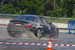 Drift and Rally Show occurred on June, 2nd, 2018 in the Shopping Mall called Il Destriero placed in Vittuone, Italy Royalty Free Stock Image