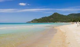 Pic van het panorama - koh samui in Thailand stock afbeeldingen