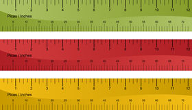 Pica Ruler Set Royalty Free Stock Images