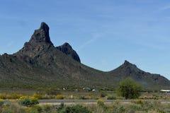 Picacho峰顶 库存照片