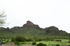 Picacho peak Royalty Free Stock Images