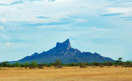 Picacho peak, Arizona, USA Stock Images