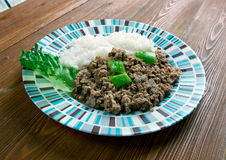 Picadillo a la habanera Stock Photography
