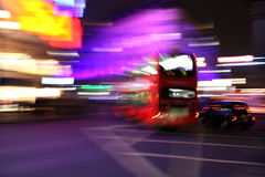 Picadilly blur Royalty Free Stock Image