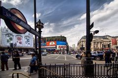 Picadilly Circus Stock Images