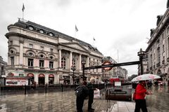 Picadilly Circus Royalty Free Stock Photography