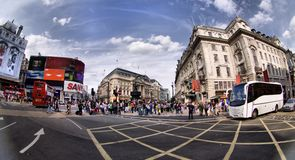 Picadilly Circus Royalty Free Stock Photos