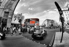 Picadilly Circus Stock Photos