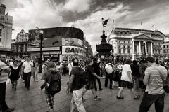 Picadilly Circus Stock Photography