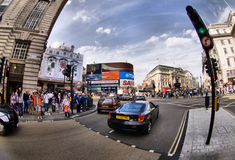 Picadilly Circus Stock Image