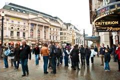 Picadilly Circus,London Royalty Free Stock Image