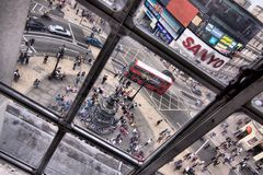 Picadilly Circus in London Stock Image