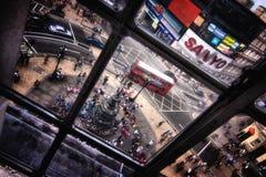 Picadilly cirkus i London Royaltyfria Bilder