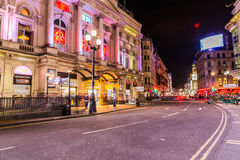 Picadilly and Coventry Street, London Royalty Free Stock Photos