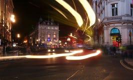 picadilly cyrkowa noc Zdjęcia Royalty Free