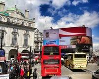 Picadilly em Inglaterra Imagens de Stock Royalty Free