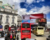 Picadilly in England Royalty Free Stock Images