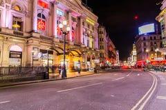 Picadilly och Coventry gata, London Royaltyfria Foton