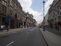 Picadilly street in London, London Royalty Free Stock Image