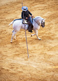 Picador στην πλάτη αλόγου Στοκ Φωτογραφία