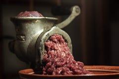 Picadora de carne Fotografia de Stock